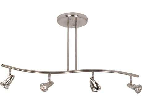 Artcraft Lighting Rocket Brushed Nickel Four-Light Rail Light