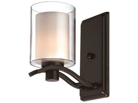 Artcraft Lighting Andover Oil Brushed Bronze Wall Sconce