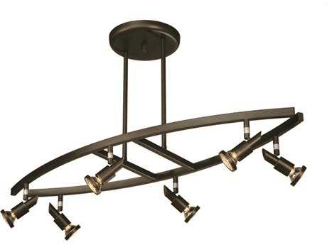 Artcraft Lighting Shuttle Oil Brushed Bronze Six-Light Rail Light