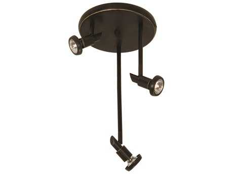 Artcraft Lighting Shuttle Oil Brushed Bronze Three-Light Spot Light