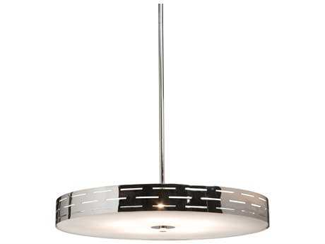 Artcraft Lighting Shuttle Chrome Pendant Light