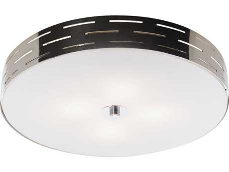 Artcraft Lighting Seattle Chrome Two-Light Flush Mount Light