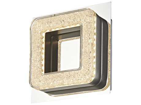 Artcraft Lighting Park Plaza Chrome LED Wall Bracket