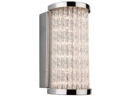 Artcraft Lighting Waterfall Chrome Wall Sconce