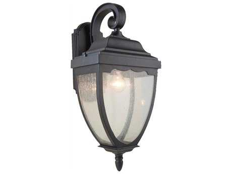 Artcraft Lighting Oakridge Black Outdoor Wall Light