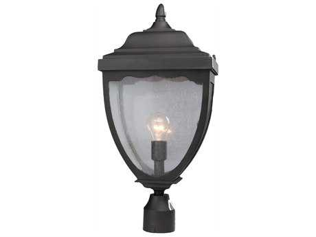 Artcraft Lighting Oakridge Black Outdoor Post Mount Light