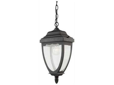 Artcraft Lighting Oakridge Black Outdoor Hanging Light