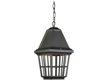 Artcraft Lighting Castille Black Outdoor Hanging Light