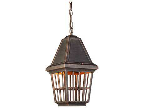 Artcraft Lighting Castille Rust Outdoor Hanging Light
