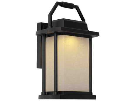 Artcraft Lighting Lemans Black Outdoor Wall Light