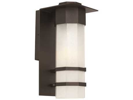 Artcraft Lighting Bedford Black 6.5'' Wide Outdoor Wall Light