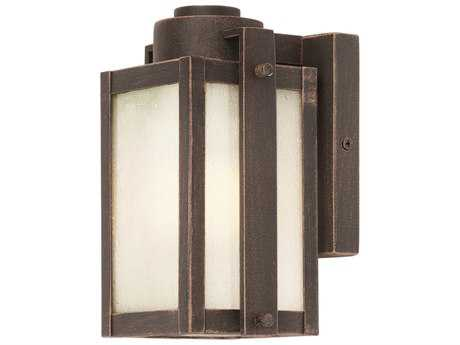 Artcraft Lighting Deacon Street Oil Rubbed Bronze 5'' Wide Outdoor Wall Light