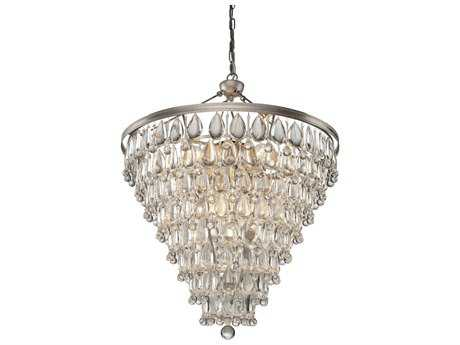 Artcraft Lighting Pebble Silver 11-Light 23'' Wide Chandelier