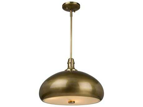 Artcraft Lighting Halo Burnished Bronze Three-Light Pendant