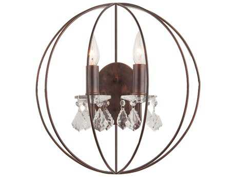 Artcraft Lighting Carnaby Street Oil Brushed Bronze Two-Light Wall Sconce