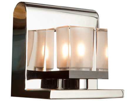 Artcraft Lighting Eddie Chrome Vanity Light