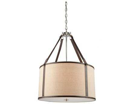 Artcraft Lighting Bay Street Oatmeal & Linen Five-Light Pendant