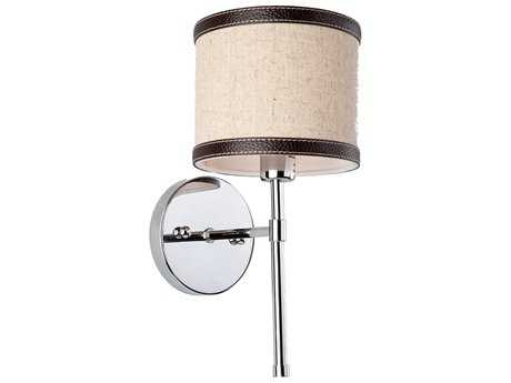 Artcraft Lighting Bay Street Oatmeal & Linen Wall Sconce