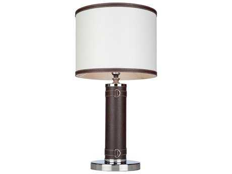 Artcraft Lighting Bay Street Table Lamp with White Shade