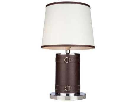 Artcraft Lighting Bay Street Two-Light Table Lamp with White Shade
