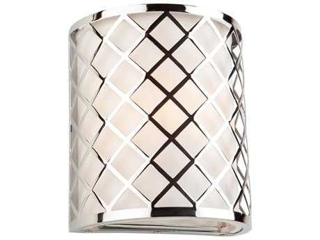Artcraft Lighting Trellis Chrome Wall Sconce