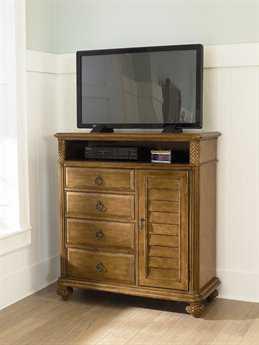 American Drew Grand Isle Amber Color Media Cabinet