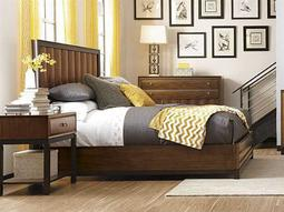 American Drew Miramar Queen Size Panel Bed with Storage