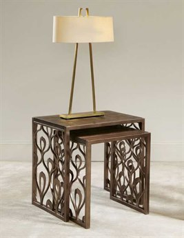 American Drew Bob Mackie Set of Nesting End Tables