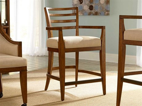 American Drew Grove Point Ladder Back Counter Stool (Sold in 2)