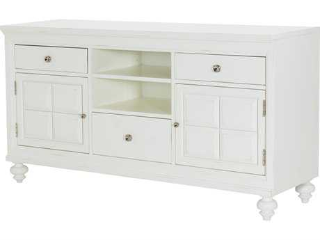 American Drew Lynn Haven Dover White 62''L x 19''W TV Stand