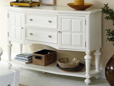 American Drew Lynn Haven Dover White 62''L x 20''W Sideboard
