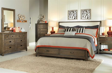 American Drew Park Studio Bedroom Set with Storage
