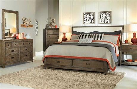 American Drew Park Studio Bedroom Set with Storage