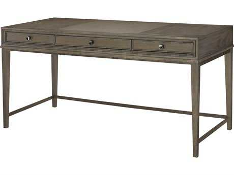 American Drew Park Studio Weathered Taupe with Gray Wash 60''L x 27''W Writing Desk