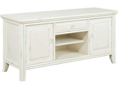 American Drew Siesta Sands White Sands 60''L x 21''W Entertainment Console