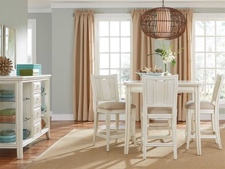 American Drew Siesta Sands Gathering Table Dining Set