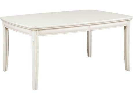 American Drew Siesta Sands White Sands 84''L x 42''W Rectangular Dining Table
