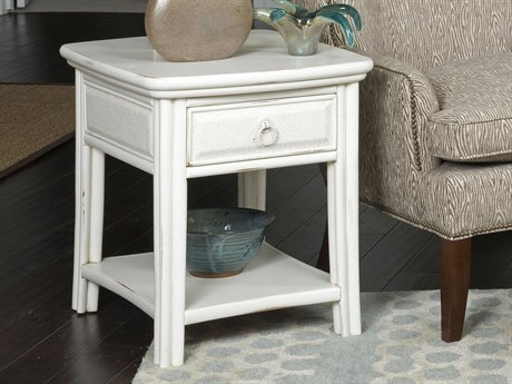 American Drew Siesta Sands White Sands 22''L x 26''W End Table