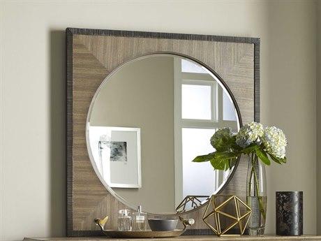 American Drew Evoke Barley 38''Wide Square Wall Mirror