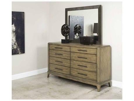 American Drew Evoke Double Dresser & Mirror Set