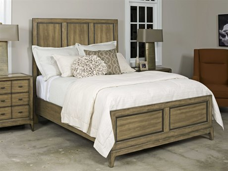 American Drew Evoke Barley Queen Size Panel Bed