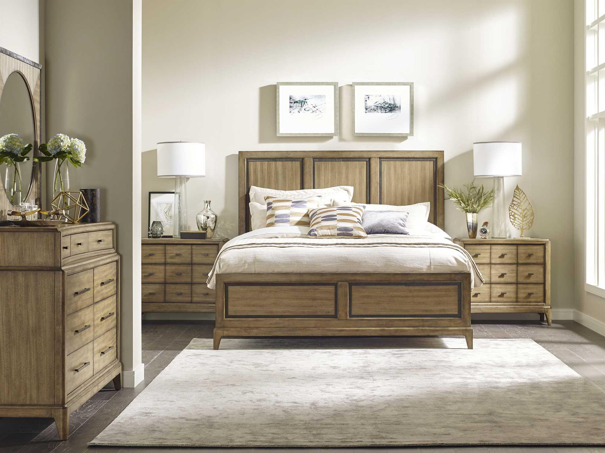 american drew evoke panel bed bedroom set ad509304rset1