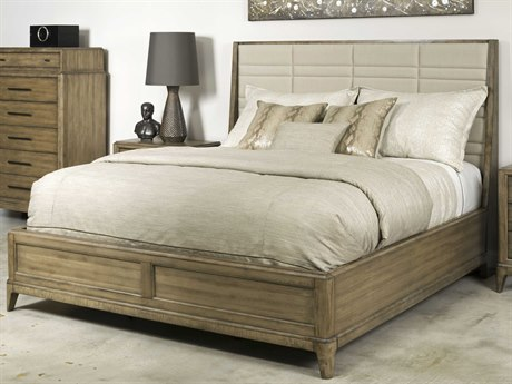 American Drew Evoke Barley California King Size Panel Sheltered Bed
