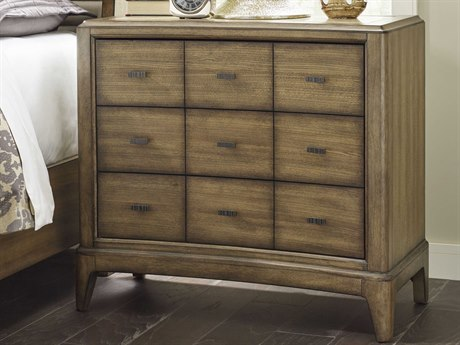 American Drew Evoke Barley 36''L x 17''W Rectangular Bachelor Chest Nightstand