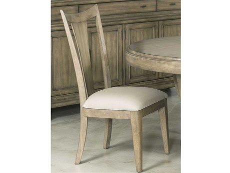 American Drew Evoke Barley Slat Back Dining Side Chair (Sold in 2)
