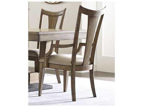 American Drew Evoke Barley Slat Back Dining Arm Chair