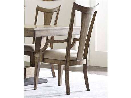American Drew Evoke Barley Slat Back Dining Arm Chair (Sold in 2)