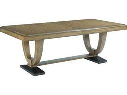 American Drew Evoke Barley 124''L x 42''W Rectangular Trestle Dining Table