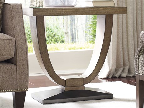 American Drew Evoke Barley 16''L x 26''W Chairside End Table