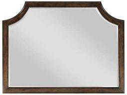 American Drew Grantham Hall Deep Coffee Tone 52''W x 39.5''H Rectangular Dresser Mirror